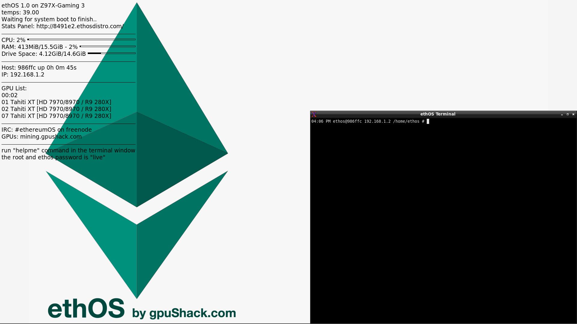 Ethos Vs Linux Mining Rig Denarius Coin Mining – Avada Hosting