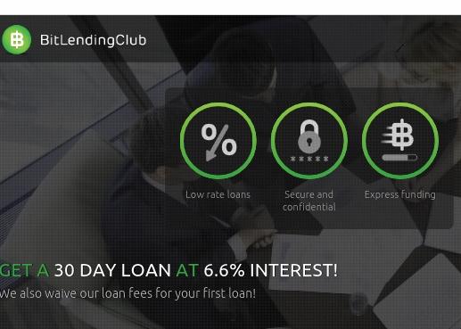 Bitlending Club Personal Loans